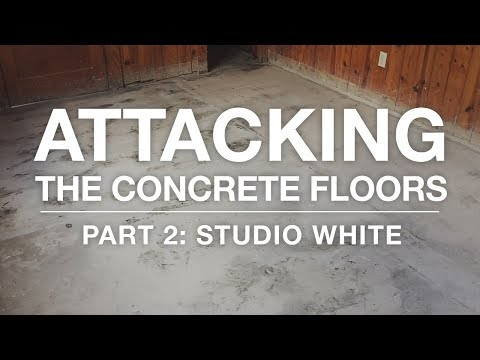 Removing Tar on Concrete: Attacking the Concrete Floors Part 2