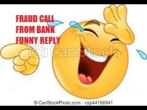How to Talk to Fraud Calls of ATM Pin Mafia..very funny...