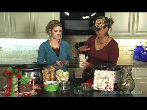 Hot Chocolate and Peanut Clusters - Crockin' Girls