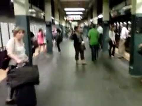 Inside NYC Subway: Times Square - 42nd Street Station
