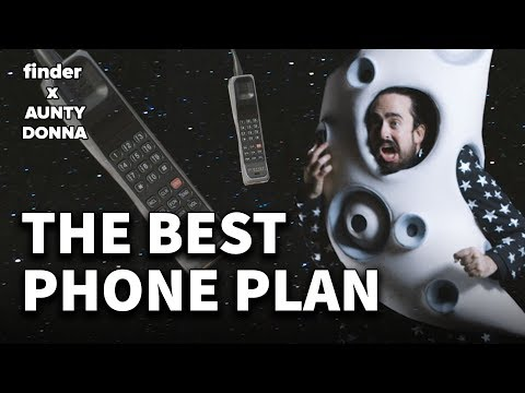 I've got the best mobile plan in the world | feat. Aunty Donna 📲