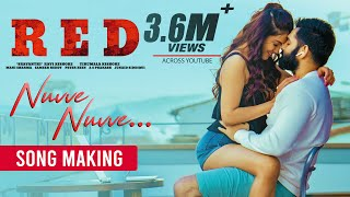 Nuvve Nuvve Making Video - RED | Ram Pothineni, Malvika Sharma | Mani Sharma | Kishore Tirumala