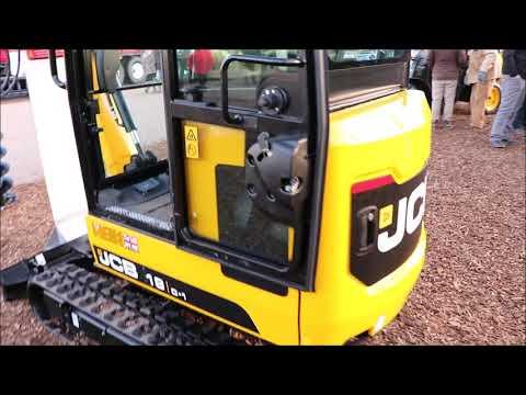NEW JCB Mini Excavator 19C-1 Close Look