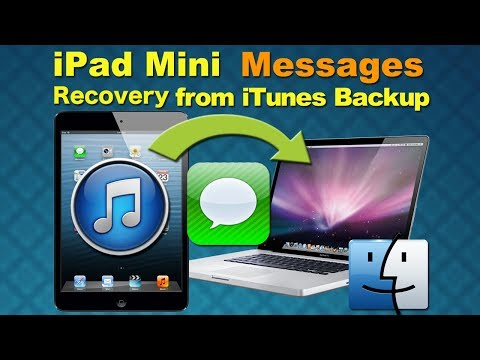How to recover lost messages from iPad Mini on Mac
