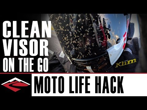 How To Clean Your Faceshield Without Special Cleaning Supplies