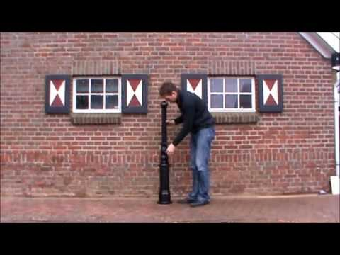Cast Iron Lamp Posts and Victorian Lamp Posts - How to build up