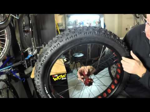 Fat bike Tubeless setup with Surly rim and tire