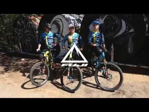 The 2018 Fuji Enduro Team Riding in Santa Cruz