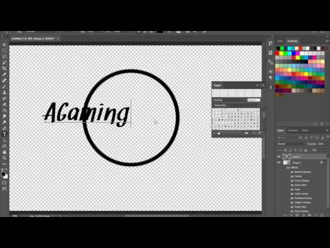 How to make a EASY ICON in PHOTOSHOP CC [2017]