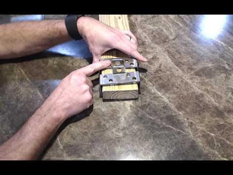 2x4 secure bar holder quick features