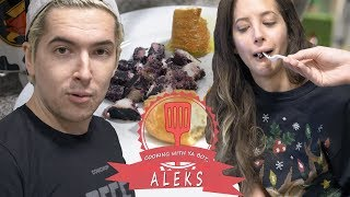 COOKING WITH YA BOY, ALEKS • Behind The Cow Chop