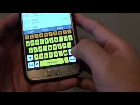 Samsung Galaxy S7: How to Change Color of Keyboard