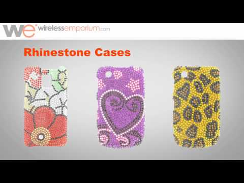 Cell Phone Cases: Rhinestone Cases for Cell Phones