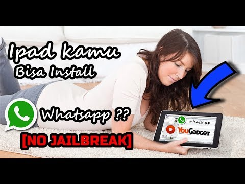 [New] Cara Install Whatsapp on ipad [No Jailbreak] [No PC]