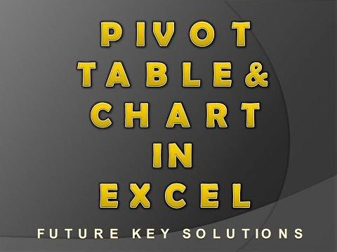 Pivot Table & Pivot  Chart in Excel by future key solutions rajpura (Hindi)