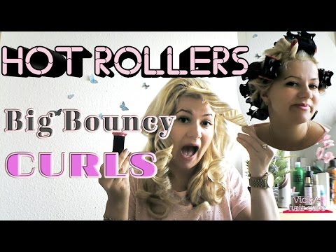 HOT ROLLERS:Bouncy Sexy Curls #43