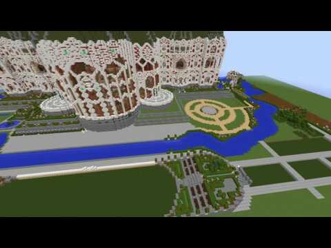 Minecraft Mega Mansion TimeLapse Speed Build