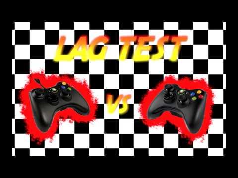 Lag Test - Wired vs Wireless Xbox 360 Controller (Response to Sik Sensei (2SikTV))