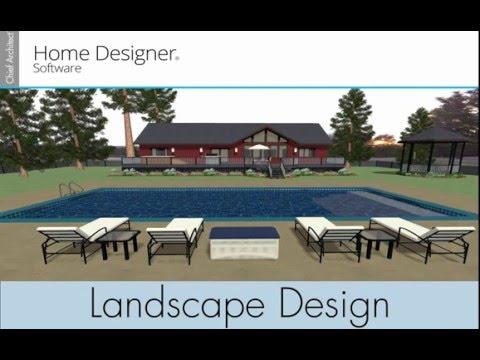 Home Designer 2017 - Landscape Design