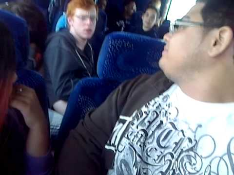 Bus Trip back to Miami from Orlando (FBLA State Comp '13) Part 1