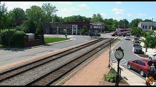Ashland, Virginia USA - Virtual Railfan (LIVE)