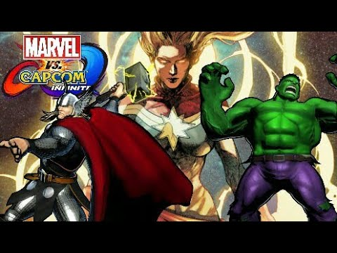 Marvel Vs Capcom: Infinite The Avengers Character Dialogue and End Battle Quotes Part 2