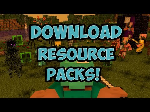 HOW TO DOWNLOAD RESOURCE PACKS IN MINECRAFT PREMIUM AND CRACKED!(TEXTURE PACKS)(2017)