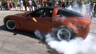 CAR SHOW Burnouts Gone WILD