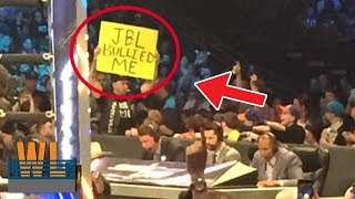 10 MOST SHOCKING Times Fan Got Kicked Out of A  Wrestling Event Caught on Camera