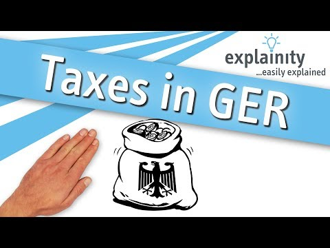 Taxes in Germany easily explained (explainity® explainer video)