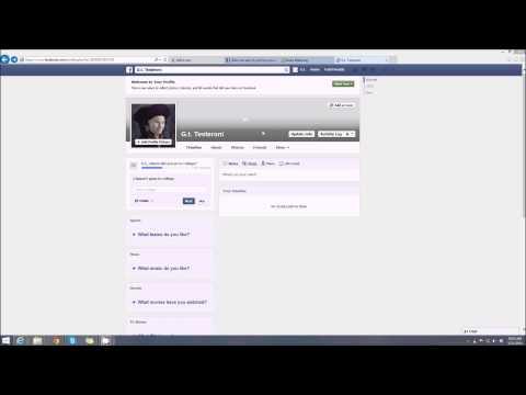 Facebook Profile Photo Privacy