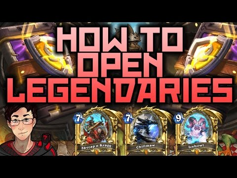 Hearthstone - How to Get Lots of Legendaries!