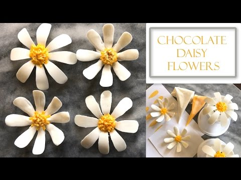 How to Make Chocolate Daisy Flowers | Two Design Concepts