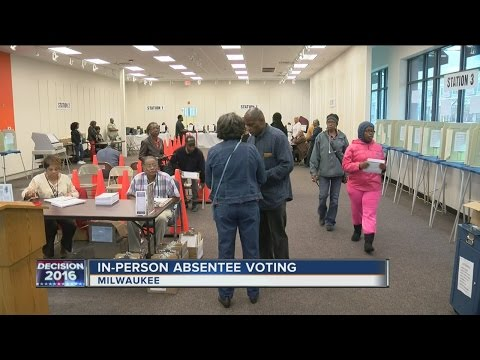 Thousands of people have taken advantage of early absentee voting