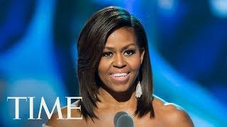 Michelle Obama Interviewed At Obama Foundation Summit By Poet Elizabeth Alexander   TIME