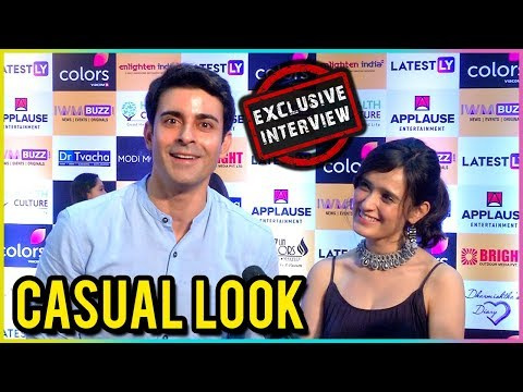 Gautam Rode And Pankhuri Awasthy Keep It SIMPLE | EXCLUSIVE Interview | IWM Buzz Party