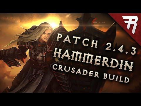 2.6.1 Crusader Hammerdin Build - Diablo 3 Reaper of Souls Season 13