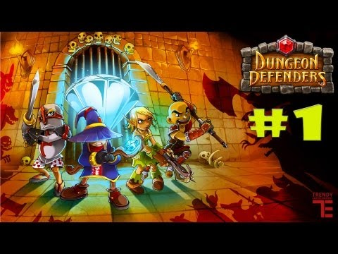 INDIE TRY OUT! - Dungeon defenders. #1