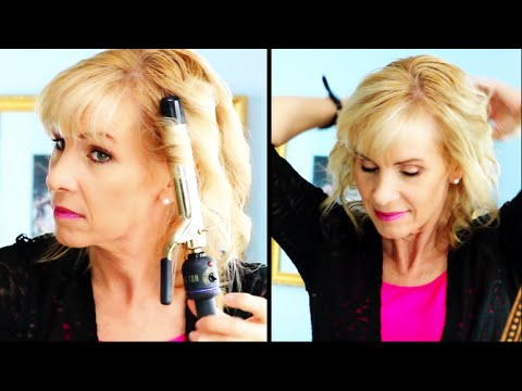How to Curl Fine Hair Tutorial & Tips for Mature Women