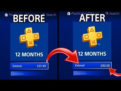 How To Get PLAYSTATION PLUS FOR FREE (MAY 2018) UNLIMITED PLAYSTATION Plus Method - (PS PLUS FREE)