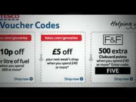 Tesco Voucher Codes 2012