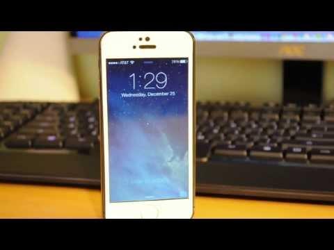 How to (Kinda) Get Touch ID on iPhone 5, 4S, iPad Air, Mini! 9 (iOS 7 Tweak)