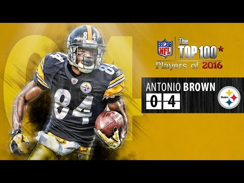 #04 Antonio Brown (WR, Steelers) | Top 100 Players of 2016