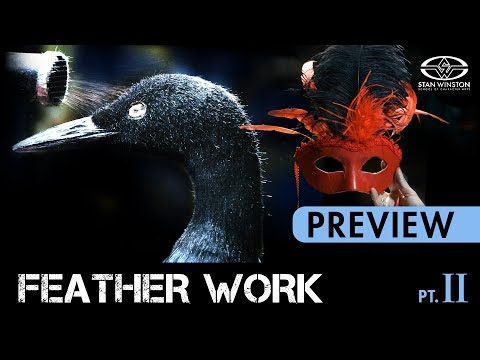 Feather Work Part 2: Birds, Costumes, Makeup & Masks - PREVIEW