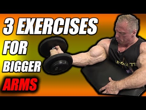 3 Exercises For Bigger Arms | You Aren't Doing