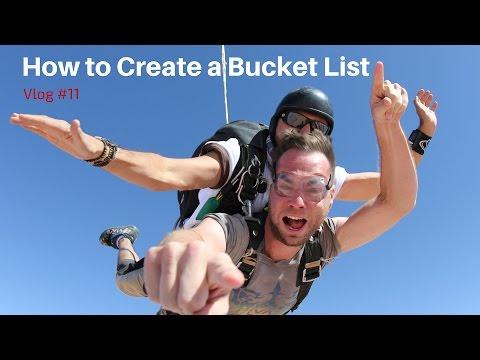 How to Create a Bucket List