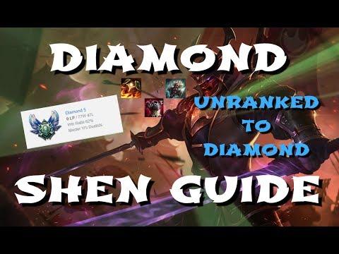 Diamond Shen Guide - Runes, Masteries, Builds