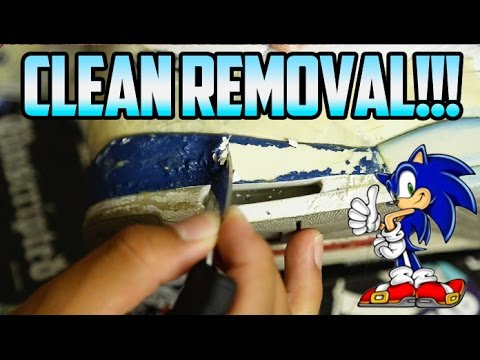 HOW TO REMOVE PAINT ON JORDANS!!! (NO NAIL POLISH REMOVER/ACETONE)