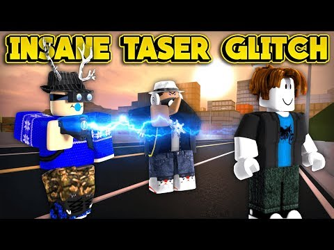 INSANE TASER GLITCH TROLLING! (ROBLOX Jailbreak)