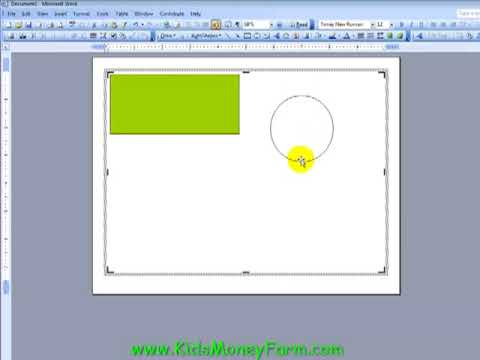 Create Kids Play Money Templates Using Word - PART 1